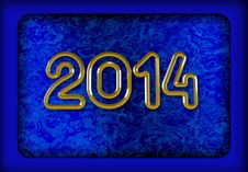 Free New Year 2014 Stock Image - 33413301