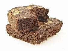 Free Cross Stack Brownies Stock Photography - 33413902