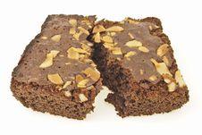 Free Split Brownies Cake Stock Photo - 33413930