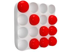 Free Cassette With Round Cells And Red Orbs Stock Images - 33413944
