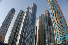 Free The Skyscrapers In Dubai Stock Image - 33415581