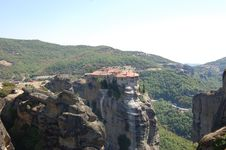 Free The Meteora In The Summer Royalty Free Stock Image - 33415696