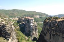 Free The Meteora In The Summer Stock Photo - 33415700