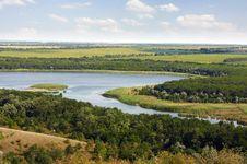 Free Ukraine Steppe River Stock Photography - 33417732