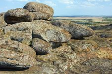 Free Ukraine. Natural Reserve Stone Tombs Royalty Free Stock Photo - 33418235