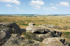 Free Ukraine. Natural Reserve Stone Tombs Stock Photo - 33418460