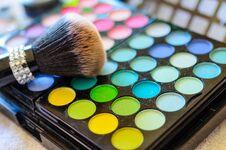 Free Closeup Of Makeup Kit Stock Photo - 33419180
