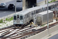 Free Commuter Train In The City Of Chicago Stock Photo - 33420830
