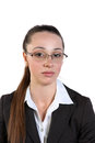 Free Beautiful Business Woman In Glasses Royalty Free Stock Photo - 33420895