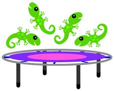 Free Lizards Can Jump Stock Photography - 33423702