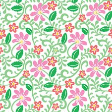 Free Floral Background Stock Photography - 33425812