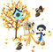 Free Painting In Autumn Season. Royalty Free Stock Image - 33423646