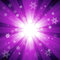Free Purple Color Burst Of Light With Snowflakes Royalty Free Stock Photo - 33433605