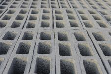 Free Cement Block Top Stacking Stock Image - 33457941