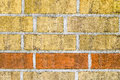 Free Old Brick Wall Pattern Closeup Stock Images - 33466864