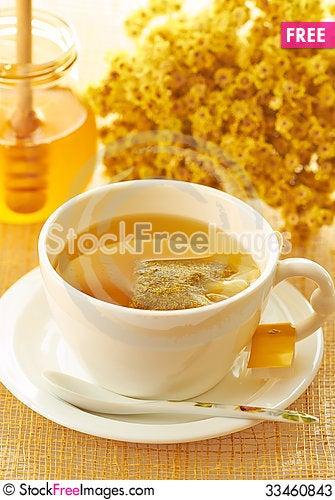 Free Herbal Yellow Tea Stock Photos - 33460843