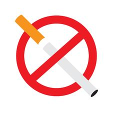 Free No Smoking Sign. Royalty Free Stock Photo - 33462135
