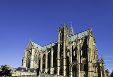 Free Metz Cathedral Stock Photo - 33466120