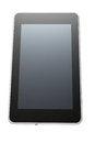 Free Tablet Pc On White Royalty Free Stock Photos - 33470478