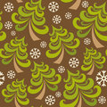 Free Vector Seamless Pattern With Christmas Tree Royalty Free Stock Photo - 33473085