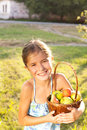 Free Child With Fruits Royalty Free Stock Image - 33474726
