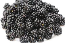 Free Blackberry Ripe And Fresh Stock Image - 33470211