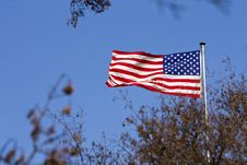 Free American Flag Royalty Free Stock Photos - 33478278