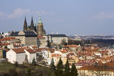 Prague Castle Stock Image