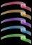 Free Set Of Ribbons Royalty Free Stock Photos - 33473858