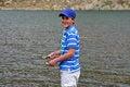Free Teenage Boy Fishing Royalty Free Stock Image - 33487726
