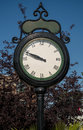 Free Street Clock Stock Image - 33488571