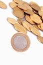 Free EU &x28;European Union Coins&x29; Stock Images - 33489354