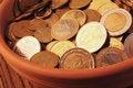 Free EU &x28;European Union Coins&x29; Stock Image - 33489581