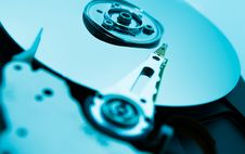 Free Close Up Of Hard Disk With Abstract Reflection Royalty Free Stock Photos - 33480038