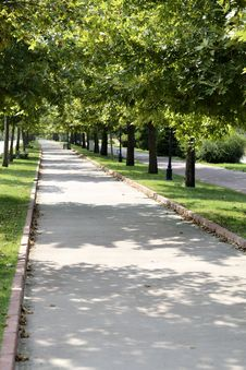 Free Walk Way In The Park Stock Photography - 33488572