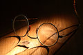 Free Old Spectacles Stock Photography - 33492922