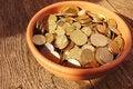 Free Coins Royalty Free Stock Photos - 33493098