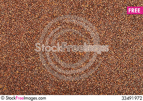 Free Coffee Beans Stock Photography - 33491972