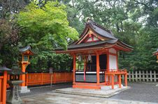 Free Temple In Kyoto 2 Royalty Free Stock Images - 33490379