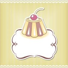 Free Cute Cupcake Border Stock Photos - 33493123
