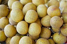 Free Fresh Sweet Longan Thai Fruit Yummy Stock Images - 33494924