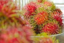 Free Fresh Rambutan Thai Fruit Yummy Stock Photo - 33495020