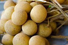 Free Fresh Sweet Longan Thai Fruit Yummy Stock Photography - 33495202
