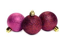 Free Christmas Balls Royalty Free Stock Photography - 33498027