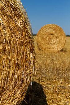 Free Straw Bales Royalty Free Stock Images - 33498609