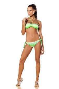 Girl In Bikini Royalty Free Stock Photography