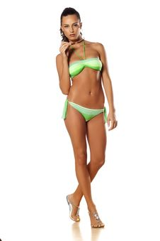 Girl In Bikini Stock Photography