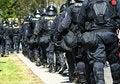 Free Policemen Walking Royalty Free Stock Photography - 3351277