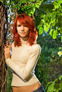 Free Beautiful Redhead Girl Royalty Free Stock Images - 3357749
