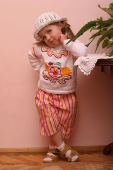 Free Little Girl Stock Image - 3350221